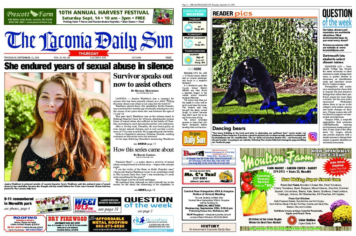 The Laconia Daily Sun – September 12, 2019