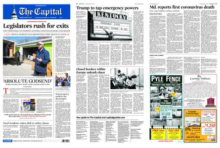 The Capital – March 19, 2020