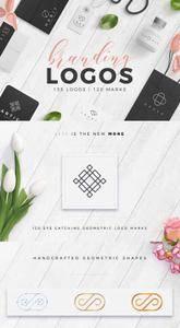 CreativeMarket - Trendy Branding Logos