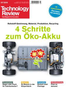 Technology Review - Juli 2019