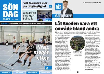 Ålandstidningen – 12 januari 2020