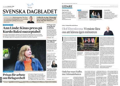 Svenska Dagbladet – 03 oktober 2019