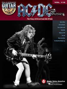 Guitar Play-Along Vol. 119 - AC/DC
