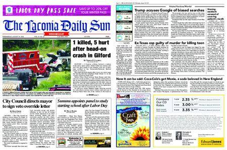 The Laconia Daily Sun – August 29, 2018