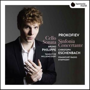 Bruno Philippe, Tanguy de Williencourt - Prokofiev: Sinfonia concertante (2019) [Official Digital Download 24/96]