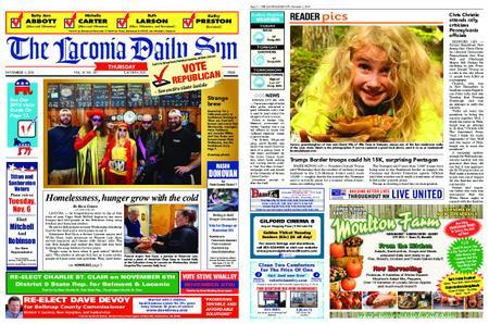 The Laconia Daily Sun – November 01, 2018