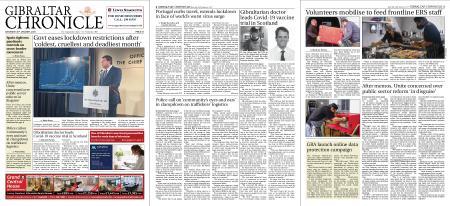 Gibraltar Chronicle – 30 January 2021