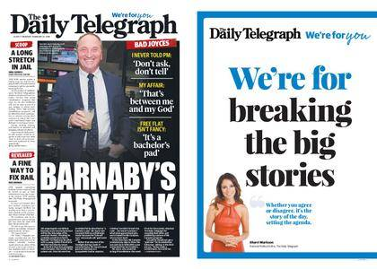 The Daily Telegraph (Sydney) – February 22, 2018
