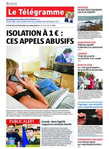 Le Télégramme Brest Abers Iroise – 31 juillet 2019