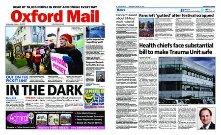 Oxford Mail – January 30, 2019