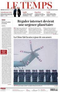 Le Temps - 16 mai 2019