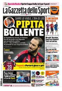 La Gazzetta dello Sport Roma – 09 gennaio 2019