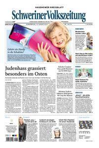 Schweriner Volkszeitung Hagenower Kreisblatt - 16. August 2018
