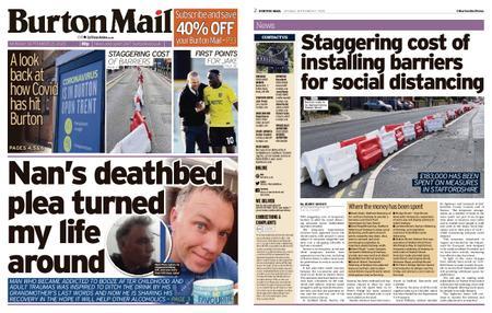 Burton Mail – September 21, 2020