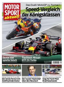 Motorsport Aktuell – 26. Mai 2020