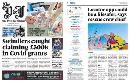 The Press and Journal Moray – April 01, 2021