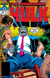 Incredible Hulk 356 1989