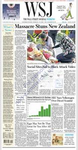 The Wall Street Journal – 16 March 2019