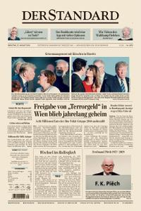 Der Standard – 27. August 2019