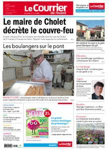 Le Courrier de l'Ouest Cholet – 23 mars 2020