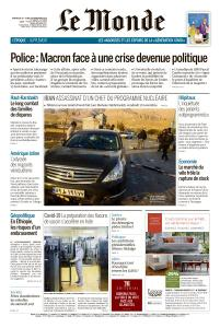 Le Monde du Dimanche 29 et Lundi 30 Novembre 2020