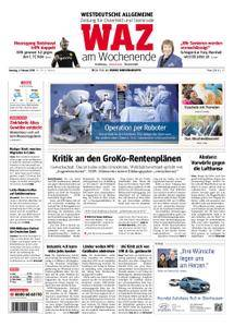 WAZ Westdeutsche Allgemeine Zeitung Oberhausen-Sterkrade - 03. Februar 2018