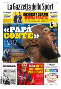 La Gazzetta dello Sport Roma – 24 settembre 2020