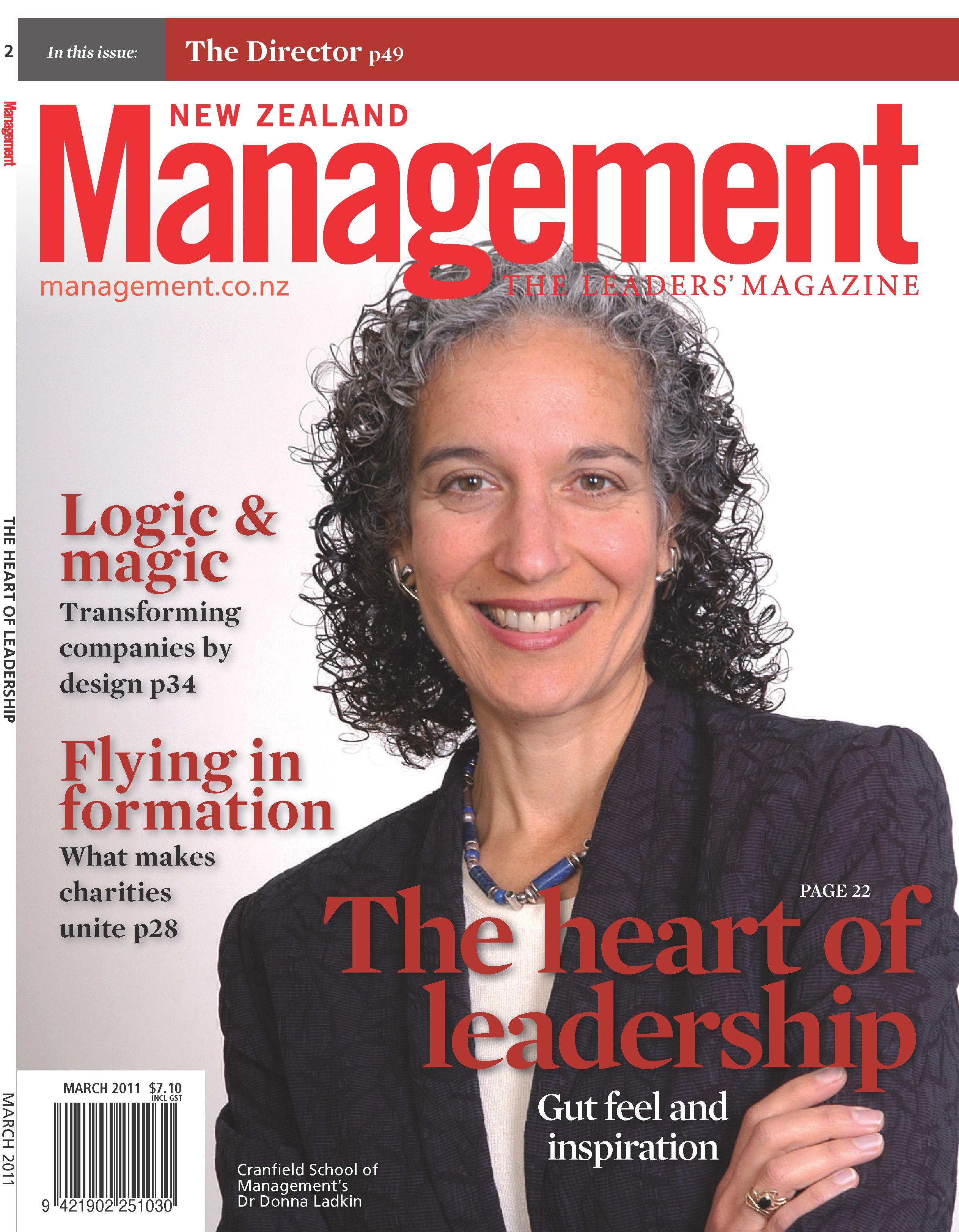Management New Zealand – March 2011