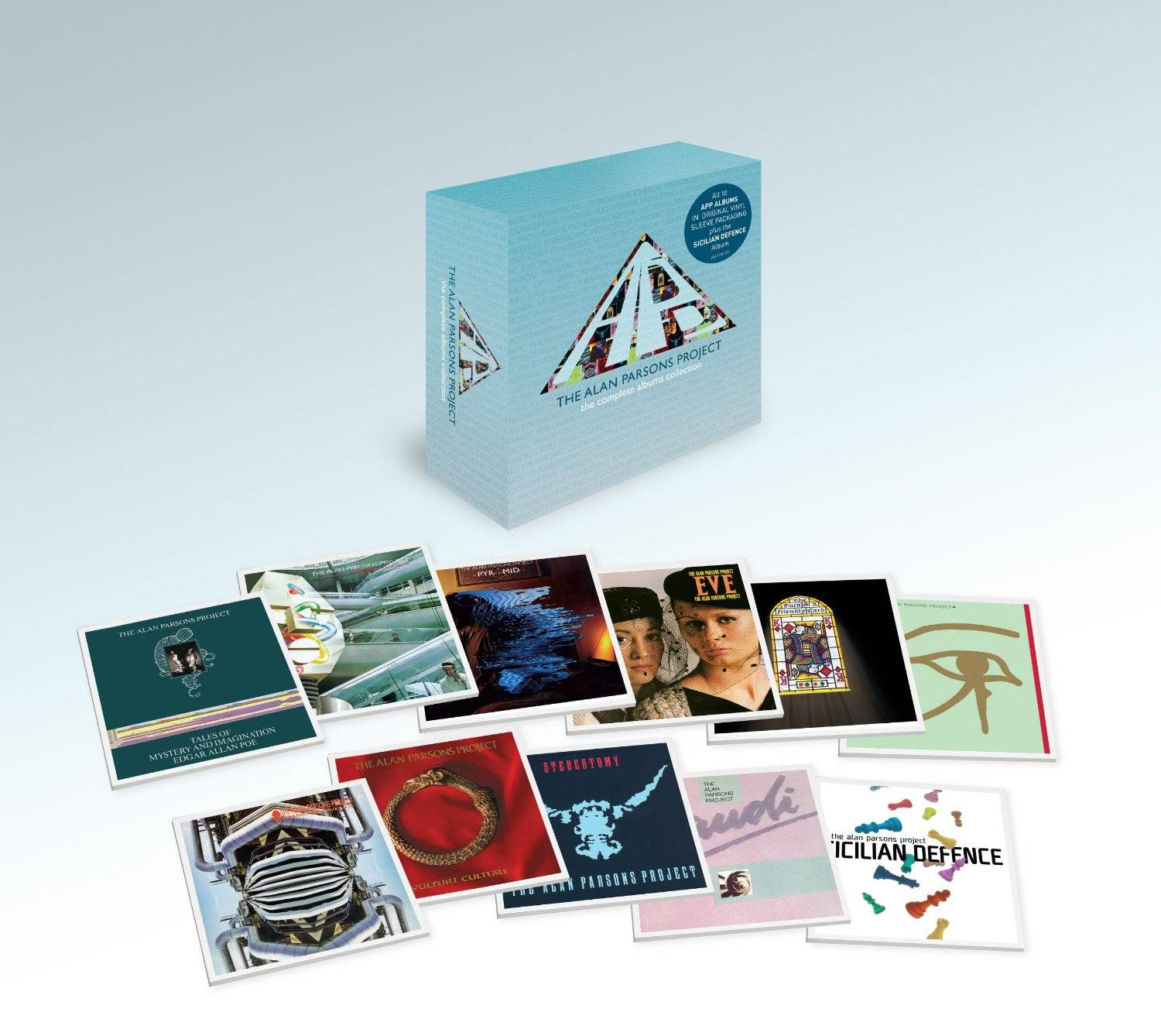 The Alan Parsons Project The Complete Albums Collection