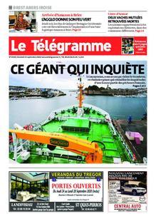 Le Télégramme Brest Abers Iroise – 25 septembre 2020