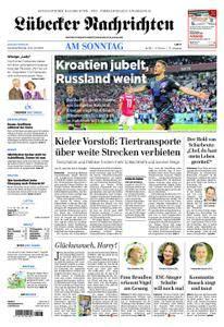 Lübecker Nachrichten Ostholstein Süd - 08. Juli 2018