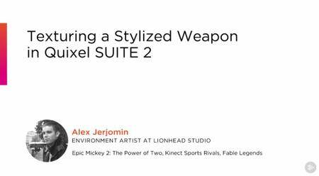 Texturing a Stylized Weapon in Quixel SUITE 2