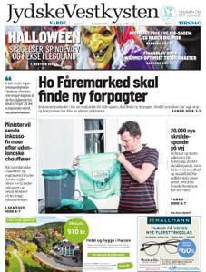 JydskeVestkysten Varde – 08. oktober 2019