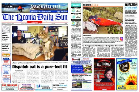 The Laconia Daily Sun – August 29, 2019