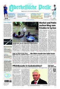 Oberhessische Presse Hinterland - 20. August 2018