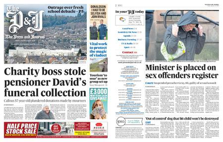 The Press and Journal Moray – January 17, 2020