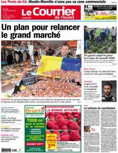 Le Courrier de l'Ouest Angers - 18 novembre 2017