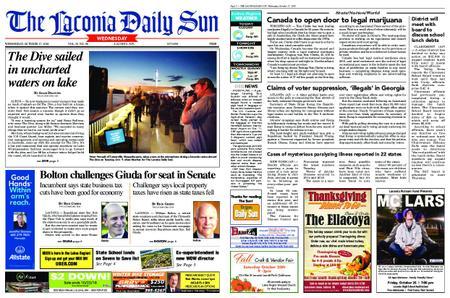 The Laconia Daily Sun – October 17, 2018