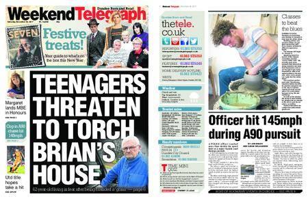Evening Telegraph First Edition – December 30, 2017