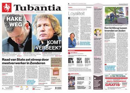 Tubantia - Enschede – 19 oktober 2017