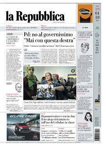 la Repubblica - 19 Gennaio 2018