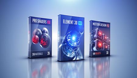 Video Copilot Pro Shaders 2 for Element 3D V2