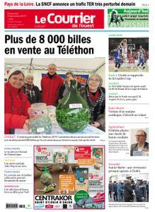 Le Courrier de l'Ouest Cholet – 08 décembre 2019
