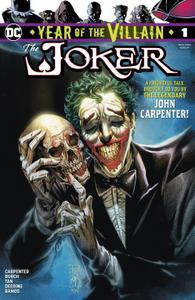 Joker-Year Of The Villain 01 2019