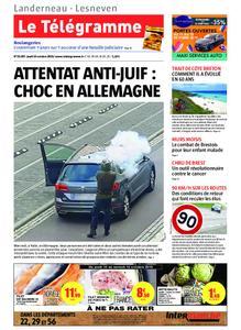 Le Télégramme Landerneau - Lesneven – 10 octobre 2019