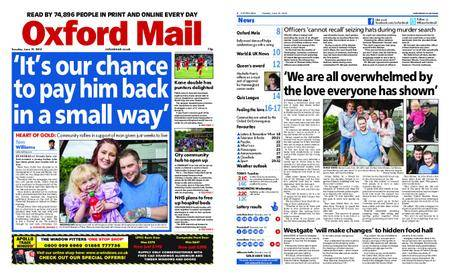 Oxford Mail – June 19, 2018