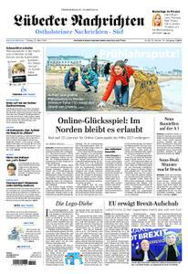 Lübecker Nachrichten Ostholstein Süd - 22. März 2019