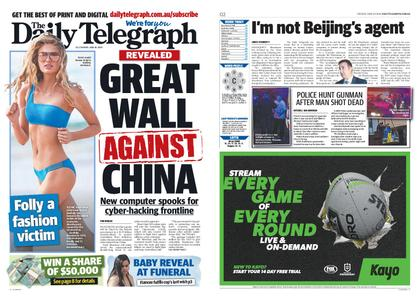 The Daily Telegraph (Sydney) – June 30, 2020