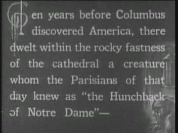 Hunchback of Notre Dame (1923)