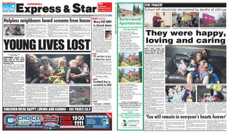 Express and Star Sandwell Edition – February 06, 2019